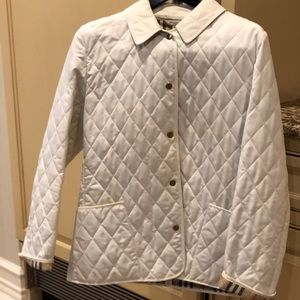 100% Authentic White Burberry Jacket.